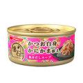 日清 懐石缶かつお白身かにかま添え魚介だしスープ 60g