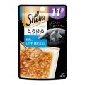 シーバ アミューズ 11歳以上 とろけるシーフードスープお魚、しらす、蟹かま添え40g