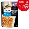 シーバ アミューズ 11歳以上 とろけるシーフードスープお魚、しらす、蟹かま添え40g×12