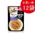 シーバ アミューズ 15歳以上 お魚フィレのスープ細かめしらすとかつおぶし添え40g×12