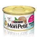 モンプチ缶 1P 1歳まで 子ねこ用 なめらか白身魚 ツナ入り 85g