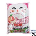 猫砂 紙 AKANE ももの香り紙製猫砂 7L