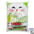 猫砂 紙 AKANE りんごの香り紙製猫砂 7L