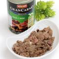 アニモンダ グランカルノ ウェットフード アダルト 牛肉と野鳥獣400g