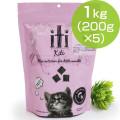 (原材料・成分変更)iti(イティ) エアドライキャットフード チキン&サーモンディナー 1kg(200g×5)(お取り寄せ商品)