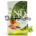 ナチュラル&デリシャス ドッグフード イノシシ&リンゴ(アダルト)小粒7kg (お取り寄せ商品)