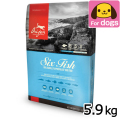 NEW オリジン 6フィッシュ 5.9kg【オリジン増量キャンペーン3/30まで】【340g×3袋添付】