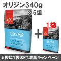 オリジン 6フィッシュ 340g×6袋【小袋5個+1増量キャンペーン 8/31まで】