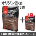 オリジン レジオナルレッド 2kg×6袋【小袋5個+1増量キャンペーン 8/31まで】