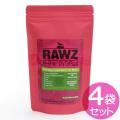 【賞味期限2019年09月25日】ラウズ(RAWZ)キャットフード ディハイドレイテッドチキン ターキー&チキンレシピ 200g×4袋