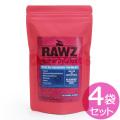 当店在庫限りで販売終了【賞味期限2019年08月23日】ラウズ(RAWZ)キャットフード サーモン ディハイドレイテッドチキン&ホワイトフィッシュレシピ 200g×4袋