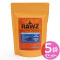 【賞味期限2019年08月22日】ラウズ(RAWZ)ドッグフード サーモン ディハイドレイテッドチキン&ホワイトフィッシュレシピ 300g×5袋