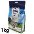 ZiwiPeak ジウィピーク エアドライ・ドッグフード NZグラスフェッドビーフ 1kg(2019年2月より順次パッケージ、原材料変更)
