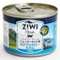 ZiwiPeak ジウィピーク キャット NZマッカロー&ラム 185g