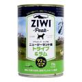 ZiwiPeak ジウィピーク ドッグ缶 トライプ&ラム390g  (2019年2月より順次パッケージ、原材料配合バランス微調整変更)