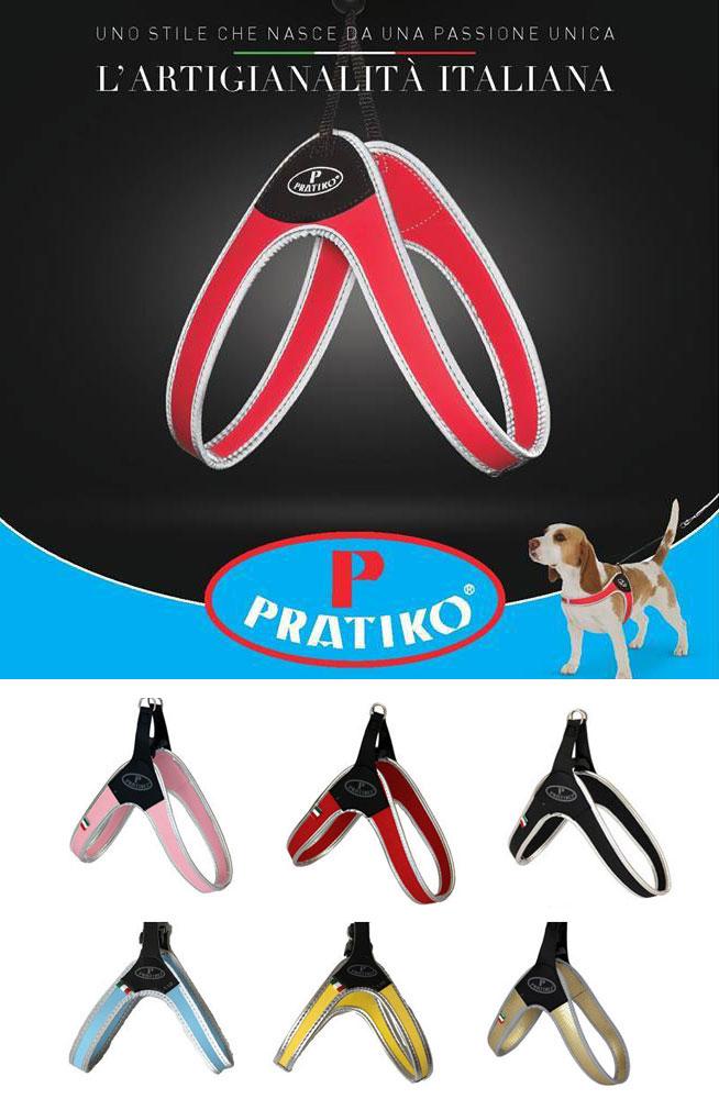 PRATIKO・プラティコ ハーネス カドゥルクリップ 小型犬用  (トイプードル、ポメラニアン、パピヨン)サイズ2