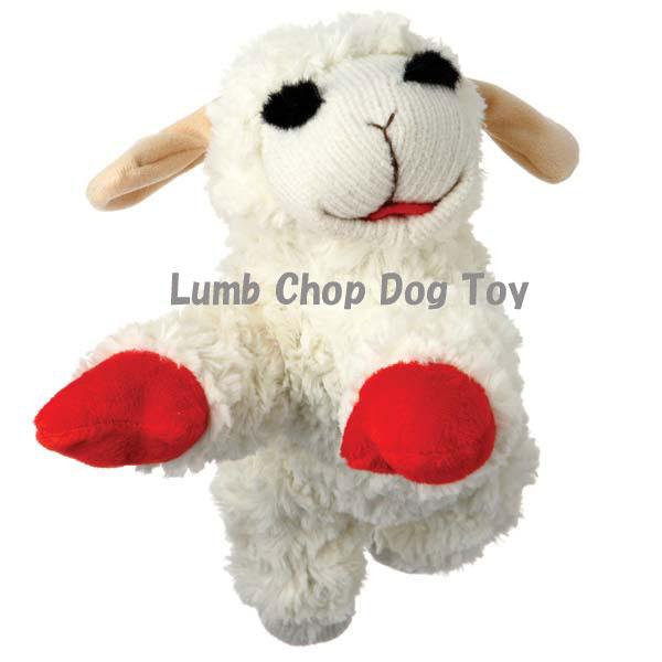 アメリカの人気TV番組のパペットが犬のおもちゃになりました!【ラムチョップドッグトイミニ】