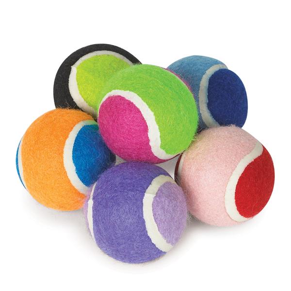 小型犬サイズ《miniカラーテニスボール2色パック》