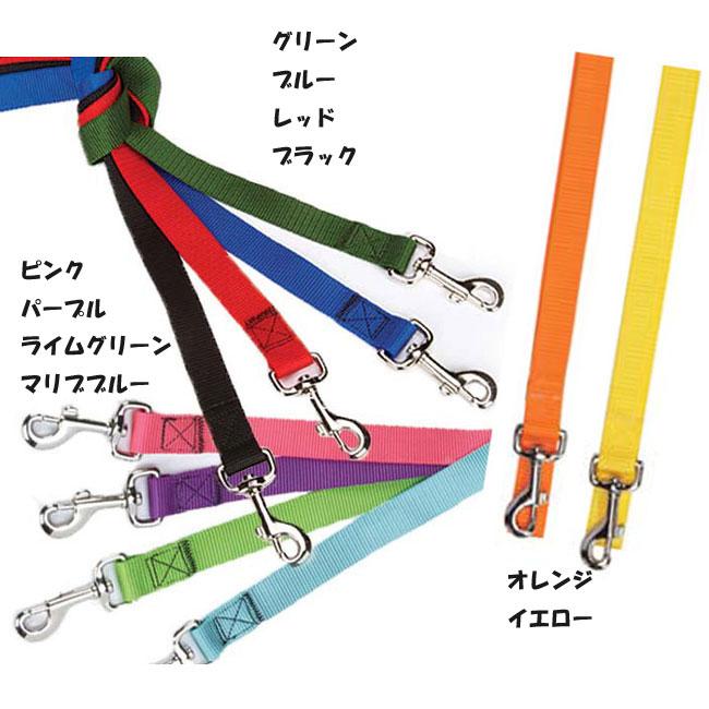 犬のリード 【Guardian Gear ファッションカラーナイロンリード】1.5cm幅