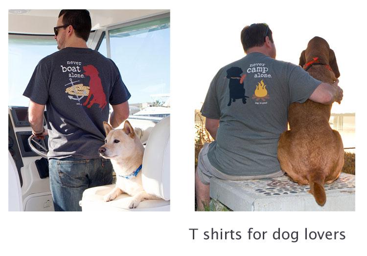 飼い主さん用輸入Tシャツ(ユニセックス、男女用)