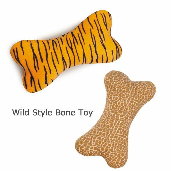 大きな骨型のぬいぐるみおもちゃ ワイルドボーントイ