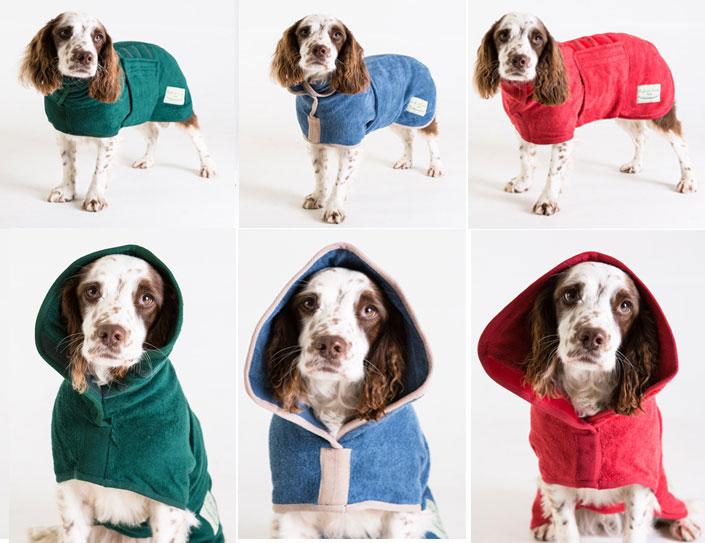 ドッグドライイングコート クラッシックコレクションMDサイズ(バーニーズ、ニューファン等超大型犬用)