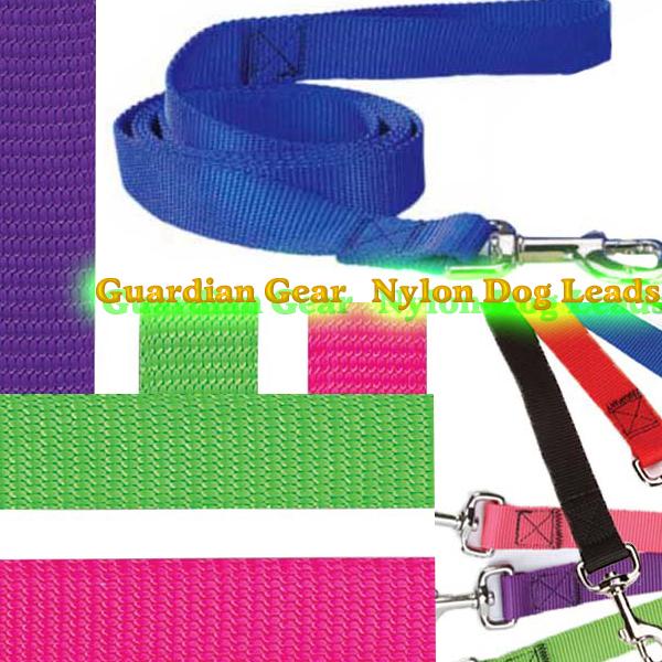 犬のリード 【Guardian Gear ファッションカラーナイロンリード】2.5cm幅