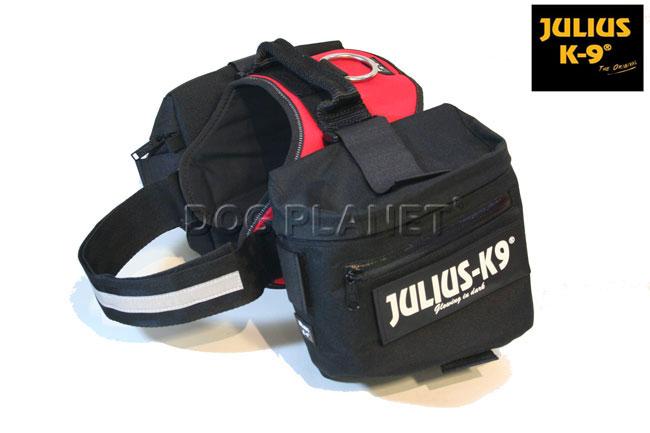 ユリウスK9ハーネスオリジナルタイプ専用サイドバッグ サイズ1,2専用