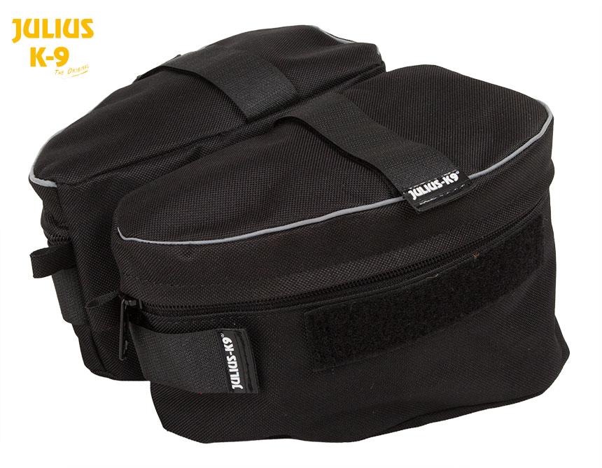 JULIUSk9・ユリウスk9ハーネスIDCタイプ専用サイドバッグ サイズ0〜2用