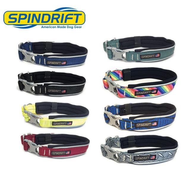 【SPINDRIFT・スピンドリフト】セーフティー首輪(反射テープ付き首輪) Lサイズ 大型犬用
