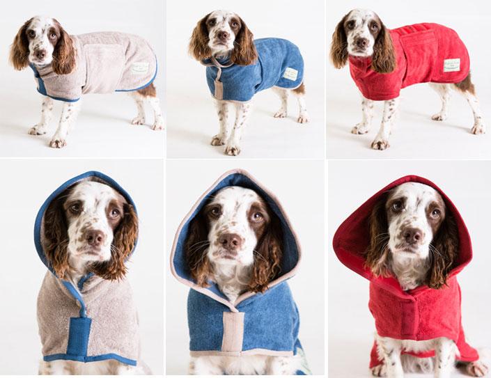 ドッグドライイングコート クラッシックコレクションMLサイズ(スプリンガースパニエル等中型犬用)