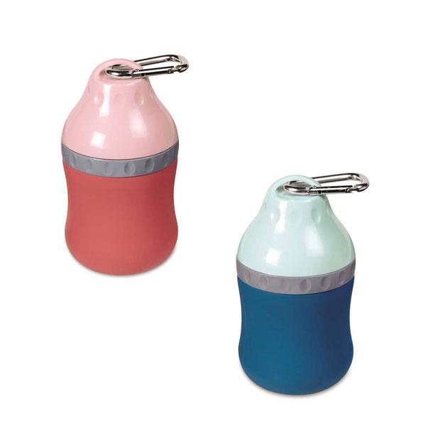 シリコン製 携帯給水器 トラベリングボトル