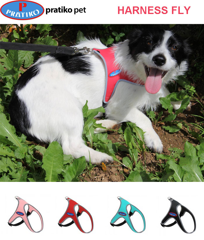 PRATIKO・プラティコ フライハーネス 超小型、小型犬用 サイズ1(チワワ、ティーカッププードル、ヨーキー)