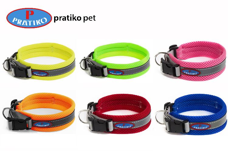 PRATIKO プラティコ エアーメッシュカラー・首輪 XSサイズ 小型犬