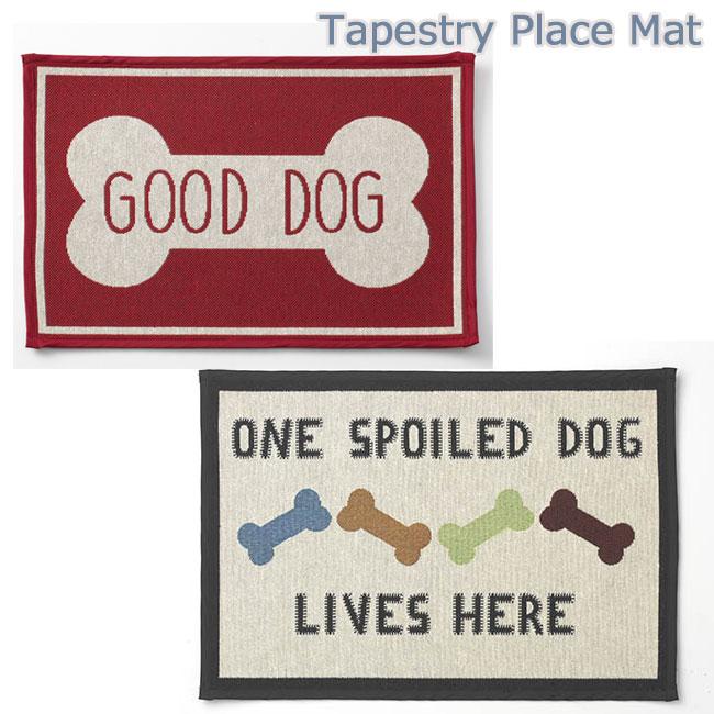 タペストリ犬用マット フードマット