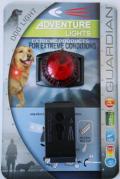 点灯、点滅切り替え可能 犬用アウトドア防水お散歩ライト
