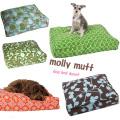 犬のベッド 大型犬 【molly mutt・ モリーマット】ドッグベッドカバー Lサイズ 超大型犬用