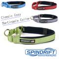 【SPINDRIFT・スピンドリフト】クラシック コージーマーティンゲールカラーS・Mサイズ 小型犬 中型犬 クッション付き首輪