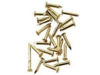 ミニ釘 (真鍮、4.0mm x 直径0.7mm) (約100本入り)