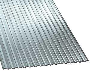 アルミ波板(ピッチ約0.7mm、HOスケール、5枚入り)