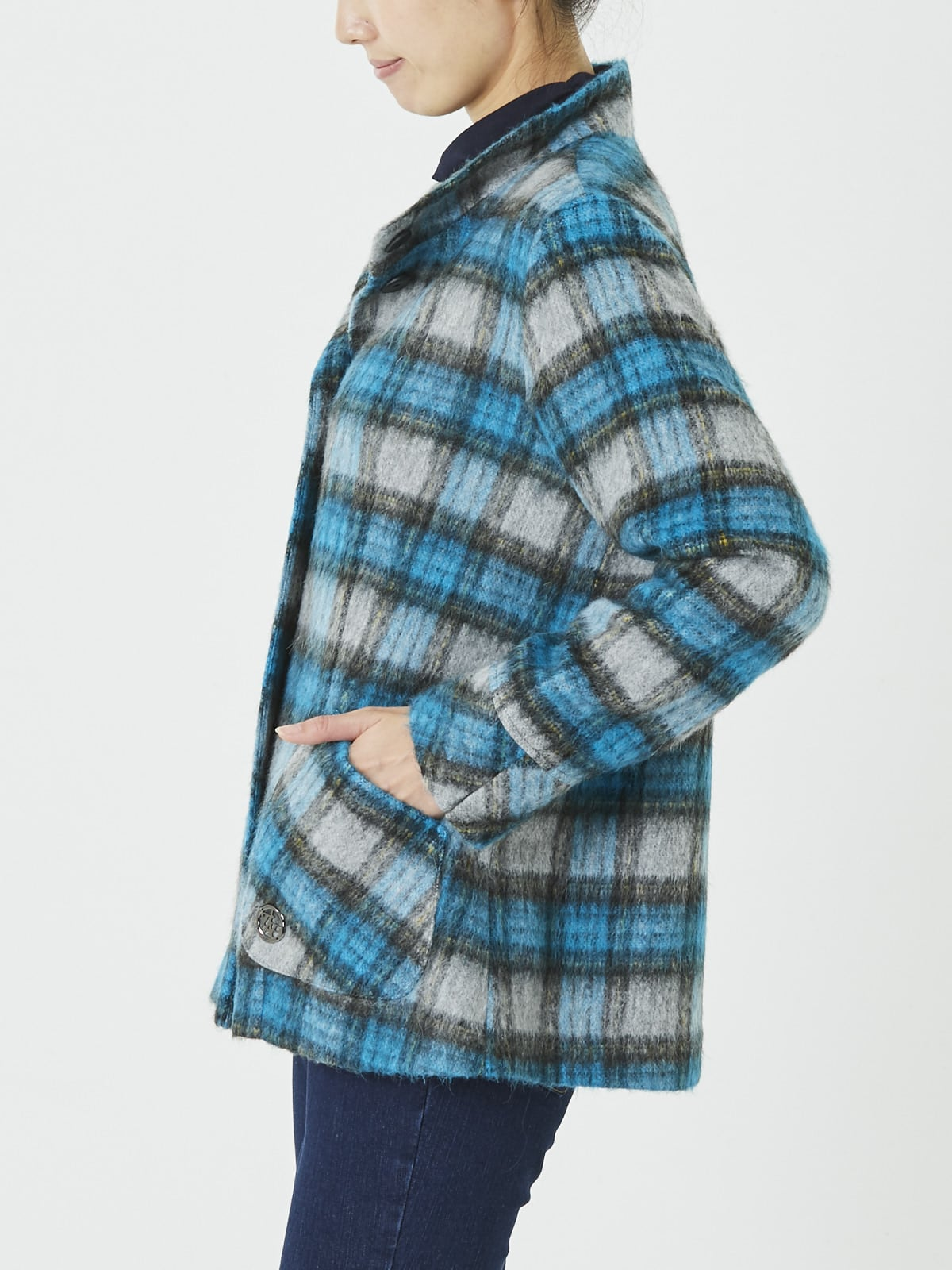 イタリア製生地 シャギージャケット