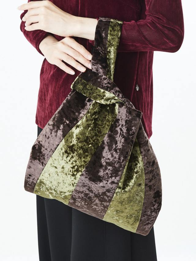 ベルベットカラーバッグ