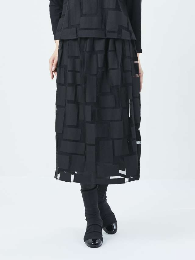 ブロックオパールスカート