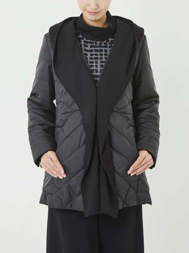 ウールドッキング中綿入りジャケット