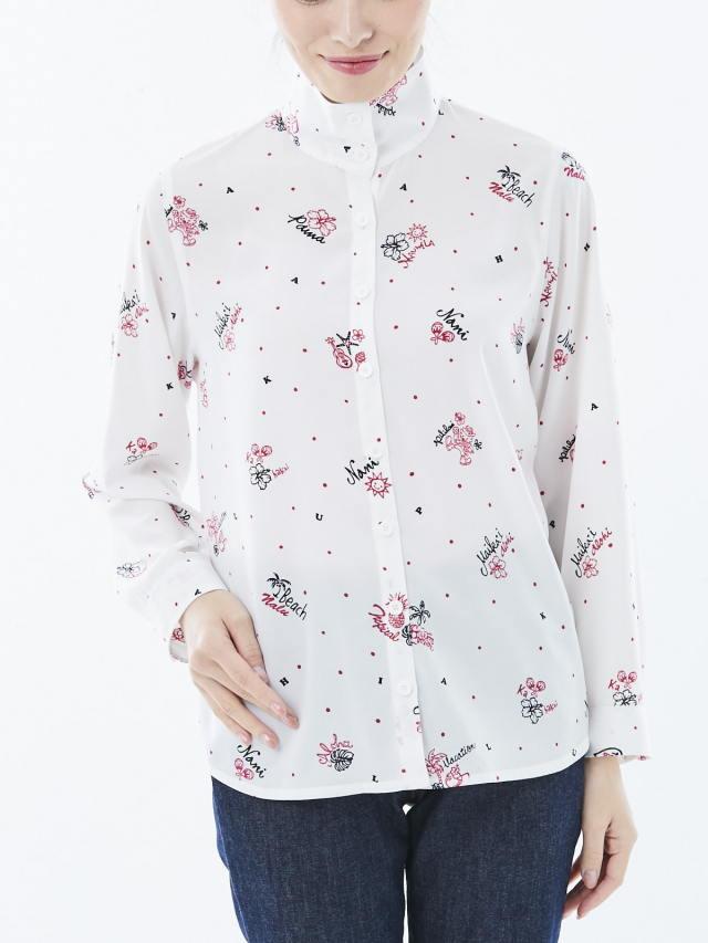 長袖フリントシャツ