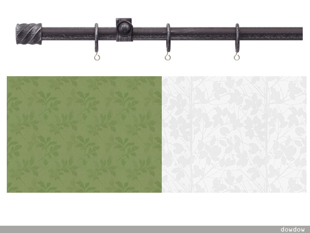 「ナチュラル・ビンテージ」のカーテンのコーデ!