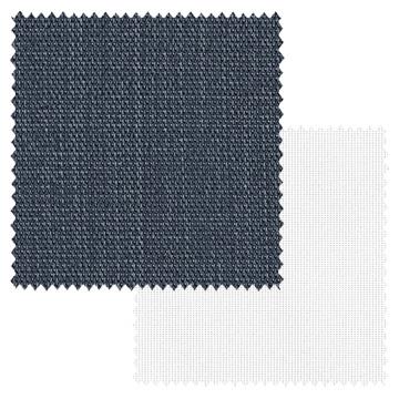 【オーダーカーテン新築セット】デニムの「ナチュラル ビンテージ」のコーディネート【NV-88】2窓セット