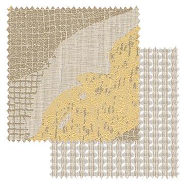 【オーダーカーテン新築セット】神々しい「イタリアン モダン」のコーディネート【IM-03】2窓セット