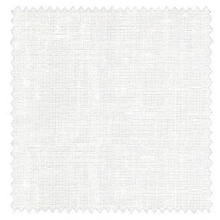 【ナチュラル モダン】麻のようなシャリ感と光沢のある無地のレースカーテン&シェード【HS-4541】ホワイト