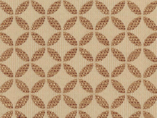 【和モダン】日本古来の七宝文様の織柄のオーダーカーテン&シェード【HS-9028】ベージュ